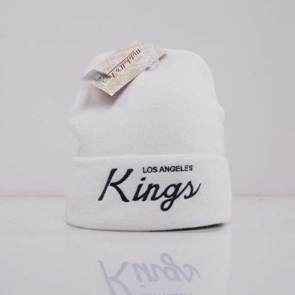 Mitchell & Ness czapka Los Angeles Kings white Team Talk EU175