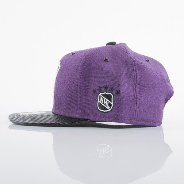 Mitchell & Ness czapka snapback Anaheim Ducks purple EU501 SPEEDWAY