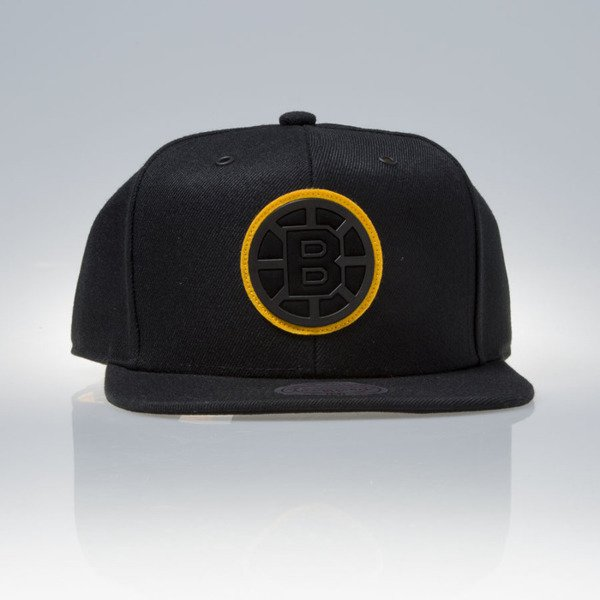 Mitchell & Ness czapka snapback Boston Bruins black FILTER EU837
