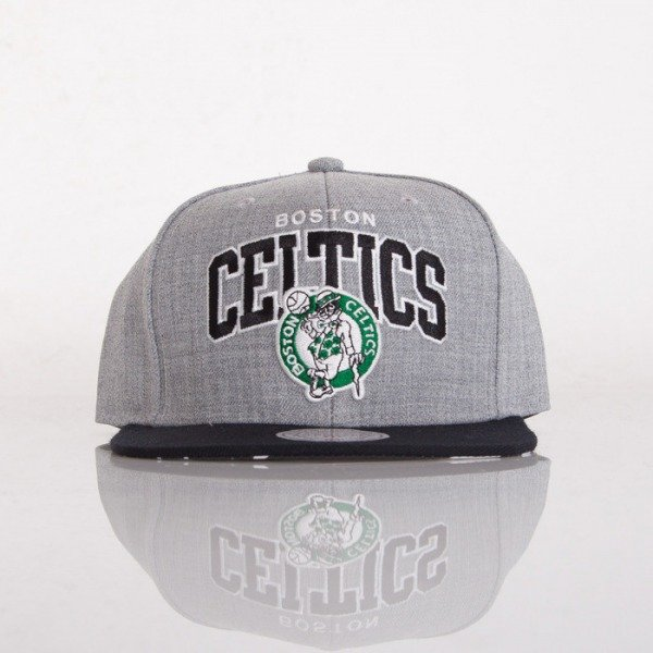 Mitchell & Ness czapka snapback Boston Celtics grey Black USA SB