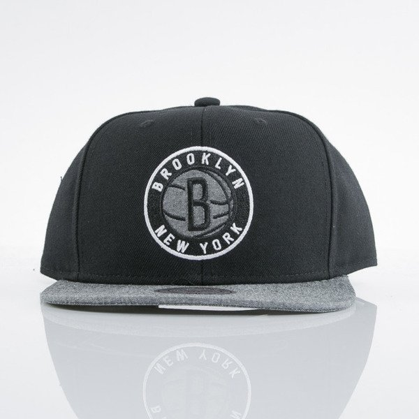 Mitchell & Ness czapka snapback Brooklyn Nets black Command EU537