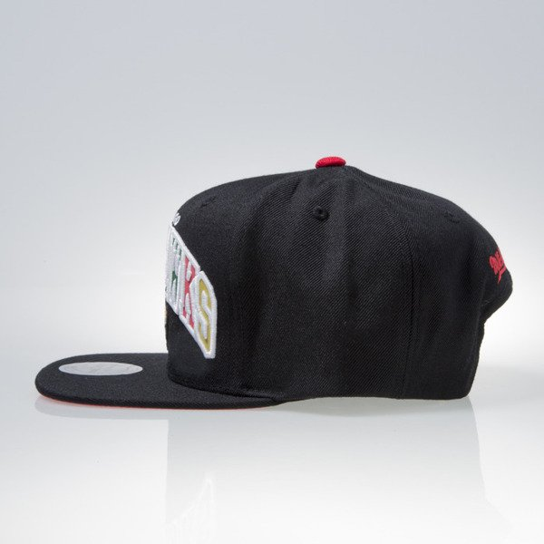 Mitchell & Ness czapka snapback Chicago Blackhawks black REFLECTIVE TRI POP ARCH VQ87Z