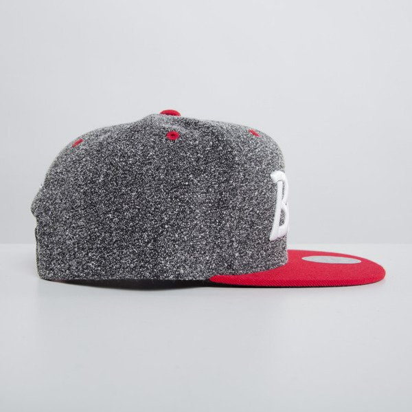 Mitchell & Ness czapka snapback Chicago Bulls dark grey Static VI17Z