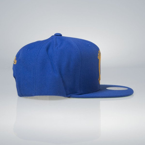 Mitchell & Ness czapka snapback Golden State Warriors blue Wool Solid / Solid 2 NL99Z