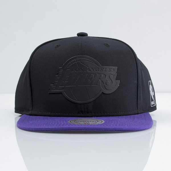 Mitchell & Ness czapka snapback Los Angeles Lakers black Tract EU363