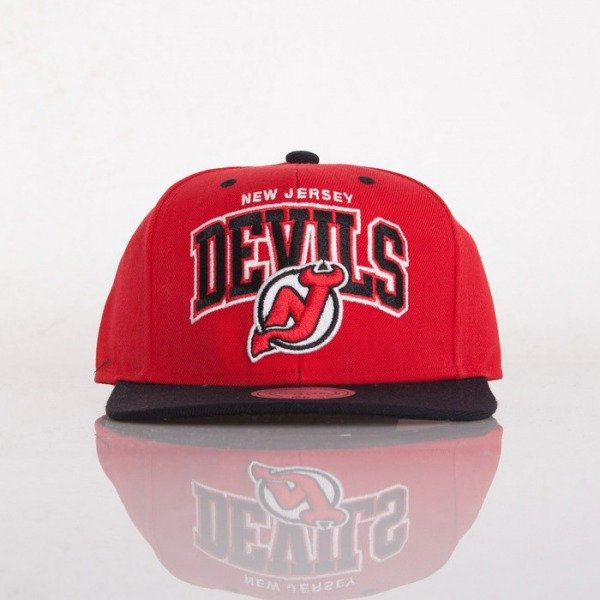 Mitchell & Ness czapka snapback New Jersey Devils red / black Doubleup