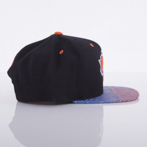 Mitchell & Ness czapka snapback New York Knicks black Court Vision
