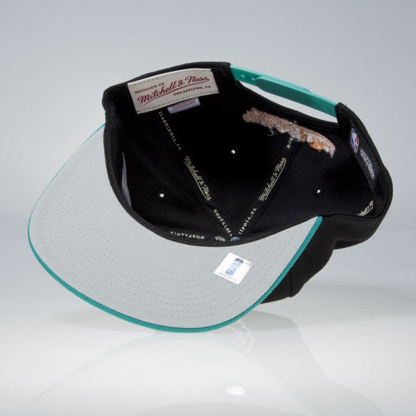 Mitchell & Ness czapka snapback San Antonio Spurs black / teal Current Throwback EU956
