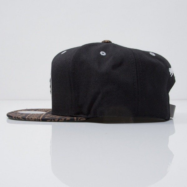 Mitchell & Ness czapka strapback Brooklyn Nets black The Archives VE38Z