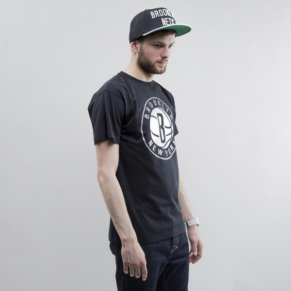 Mitchell & Ness koszulka Brooklyn Nets black Metallic Silver Center