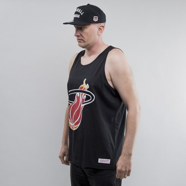Mitchell & Ness koszulka tank top Miami Heat Team Logo