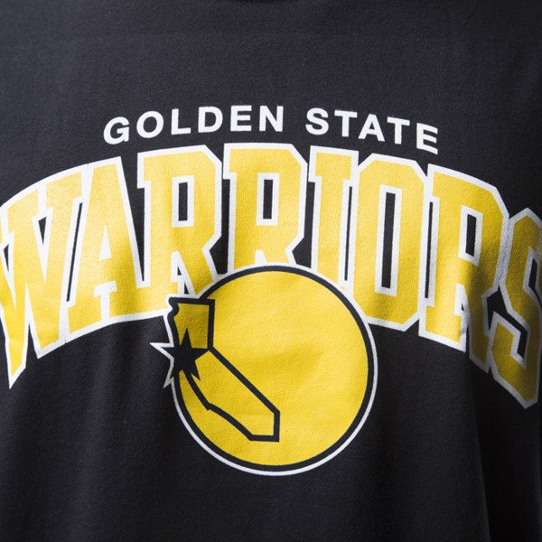 Mitchell & Ness t - shirt koszulka Golden State Warriors black TEAM ARCH