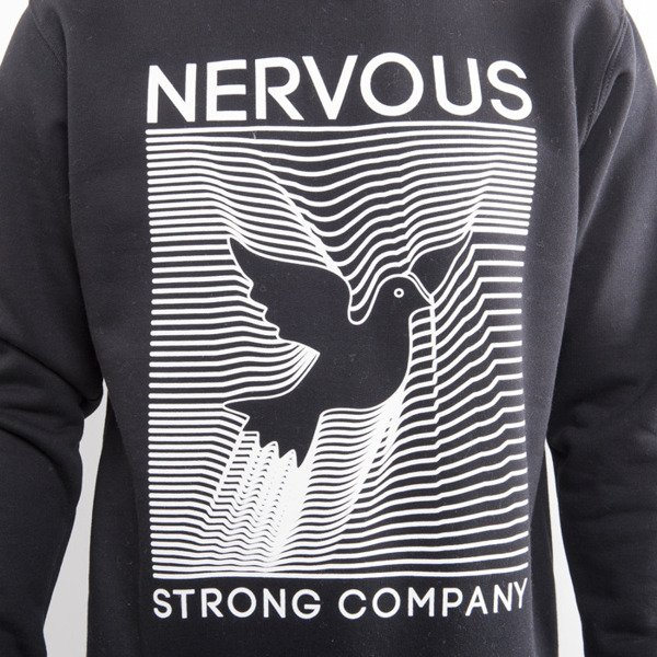 Nervous bluza crewneck Digital black