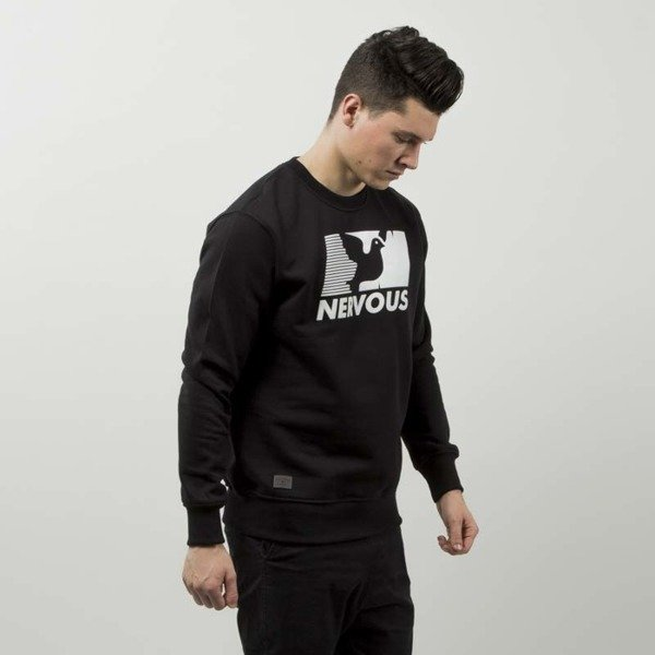 Nervous bluza sweatshirt Broadcast black