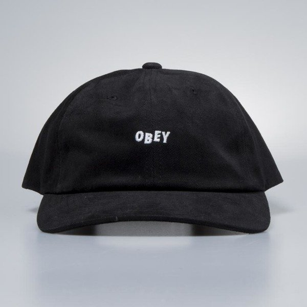 Obey czapka Cutty 6 Panel Snapback black