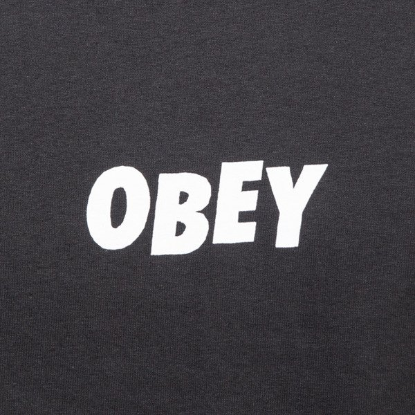 Obey koszulka t-shirt Jumbled black