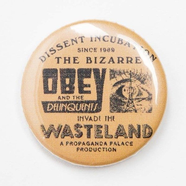 Obey przypinka OBEY Pin multicolor
