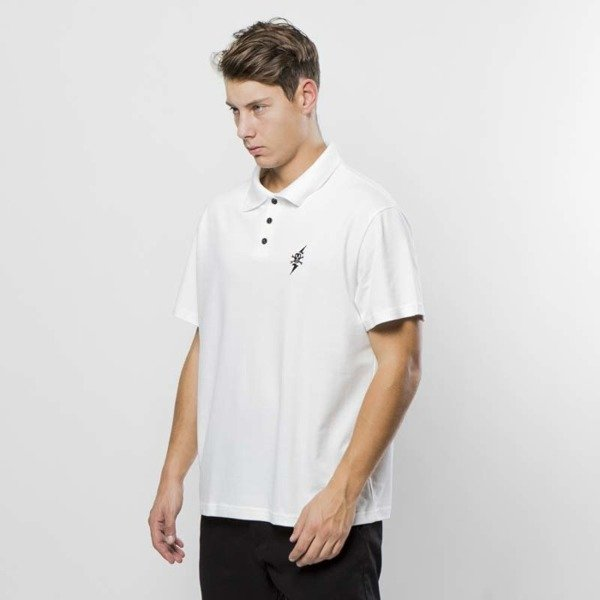 POGO koszulka polo Light white
