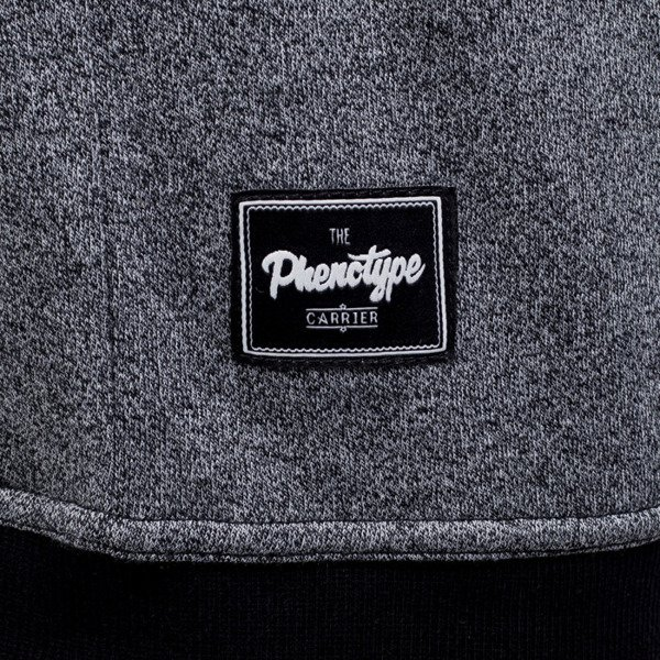 Phenotype bluza crewneck Faking Black knitted grey / black