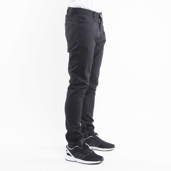 Phenotype spodnie Pants tapered fit black denim