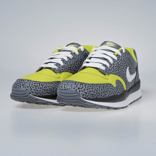 Sneakers Buty Nike Air Safari SE flint grey/white bright cactus