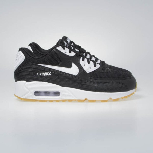 Sneakers Buty Nike WMNS Air Max 90 black/white-gum light brown (325213-055)