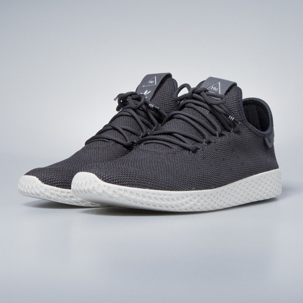 Sneakers buty Adidas Originals Pharrell Williams Tennis HU carbon / carbon / chalk white CQ2162