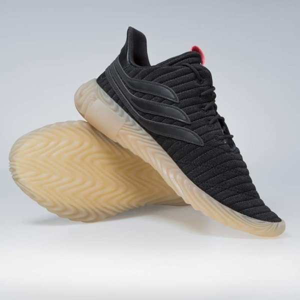 Sneakers buty Adidas Originals Sobakov black/flared (BB7040)