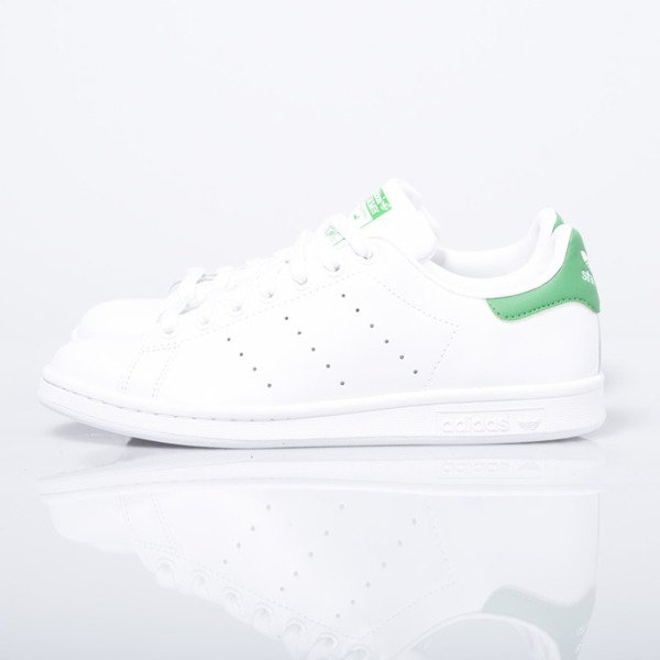 Sneakers buty Adidas Originals Stan Smith white / green (M20324)