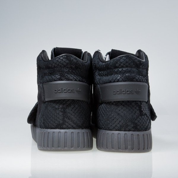 Sneakers buty Adidas Originals Tubular Invader Strap core black / core black BB8392