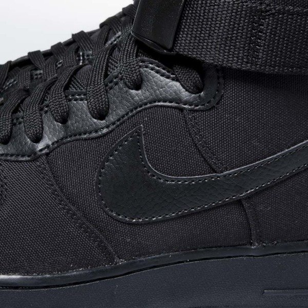 Sneakers buty Nike Air Force 1 High '07 Canvas black / black - anthracite AH6768-001