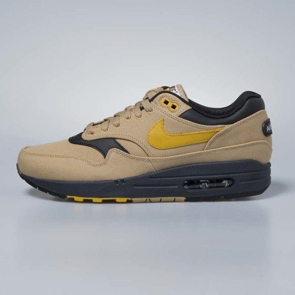Sneakers buty Nike Air Max 1 Premium elemental gold / mineral yellow 875844-700