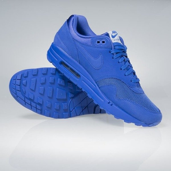 Sneakers buty Nike Air Max 1 Premium game royal / game royal 875844-400