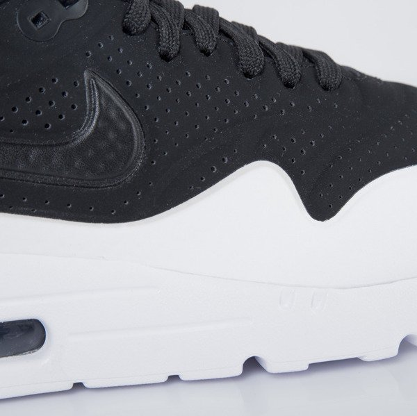Sneakers buty Nike Air Max 1 Ultra Moire black / black - white (705297-011)