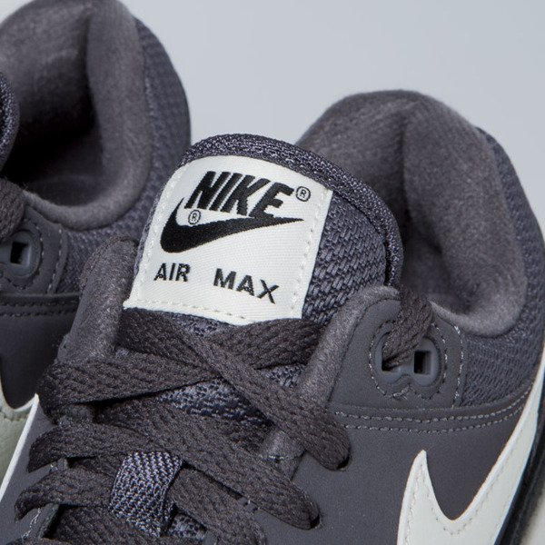 Sneakers buty Nike Air Max 1 thunder grey / sail-sail-black (AH8145-012)