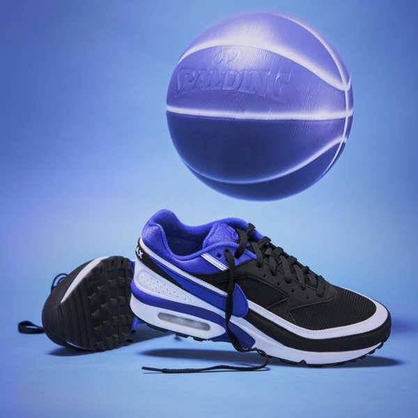 Sneakers buty Nike Air Max Bw Og black persian violet white (819522 051)