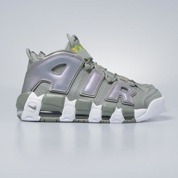 Sneakers buty Nike Air More Uptempo dark stucco / white - black 917593-001