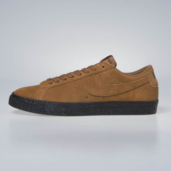 Sneakers buty Nike SB Zoom Blazer Low lt british tan (864347-200)