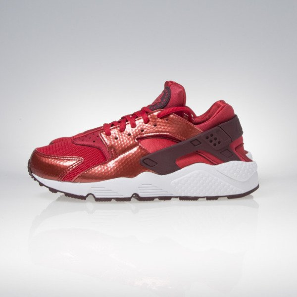 Sneakers buty Nike WMNS Air Huarache Run university red / night maroon / white 634835-605