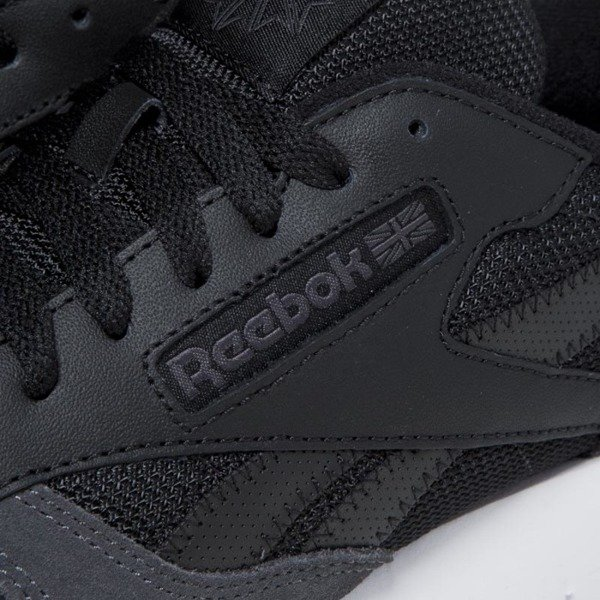 Sneakers buty Reebok Classic Leather MO black / coal / white / skull grey BS5146