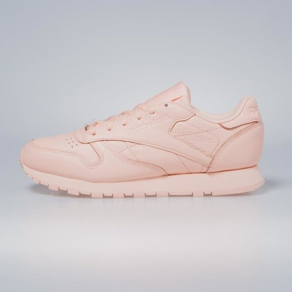 fff6c17cf28901 ... Sneakers buty Reebok Classic WMNS Leather L grit - peach twist   sleek  met BS7912 ...