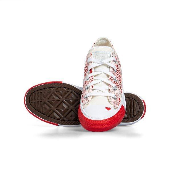 Sneakers buty damskie Converse Chuck Taylor All Star OX czerwone (567311C)