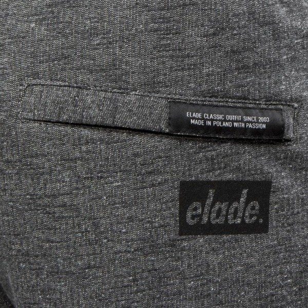 Spodenki Elade szorty Classic Cotton Shorts dark grey