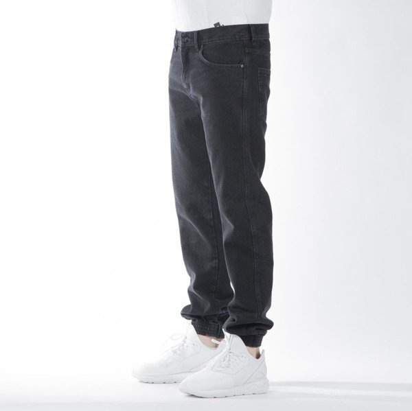 Spodnie Prosto Jeans Slim Jogger 2 black washed
