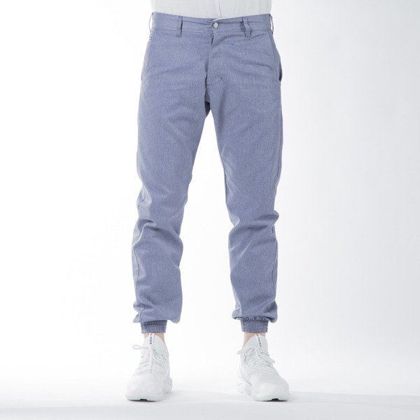 Spodnie Turbokolor Trainer Chino blue / grey SS16