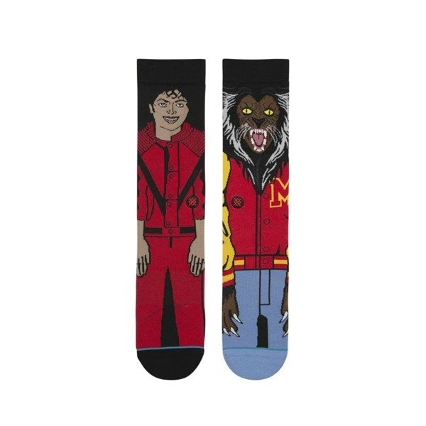 Stance skarpety Fundation Michael Jackson red M545D17MIC