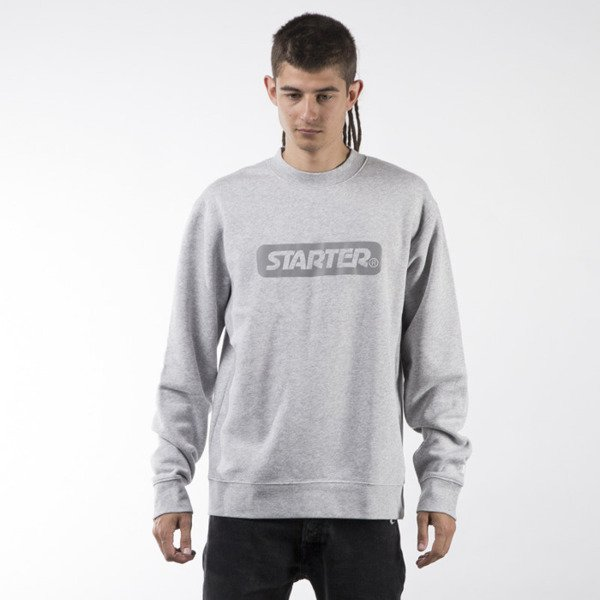 Starter bluza crewneck Box Logo Sweat grey heather / 3M (ST-SW893-GRH-3M)