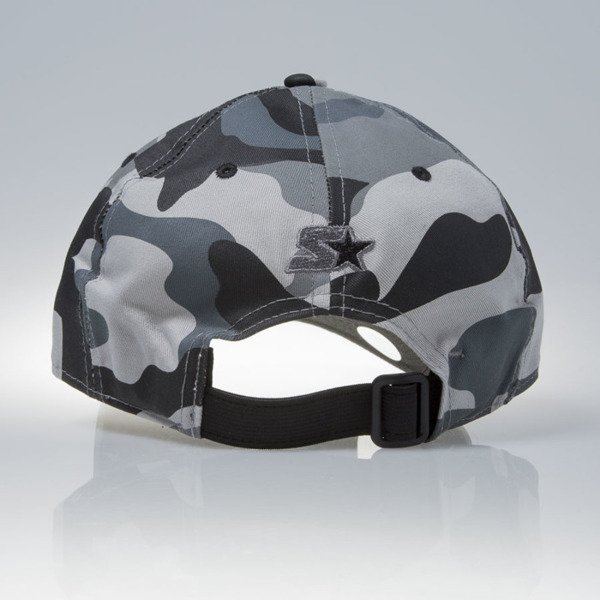 Starter czapka stretch fit Issue Pitcher blackcamo / charcoal (ST-1241)