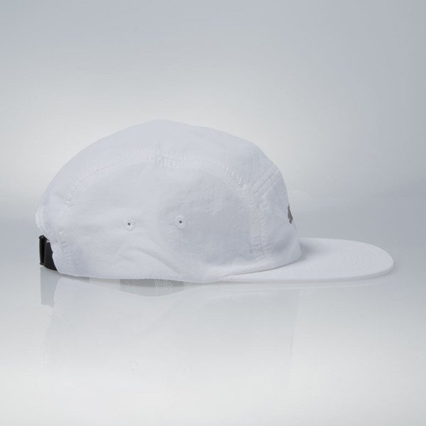 Stussy czapka 5panel Simple Camp white