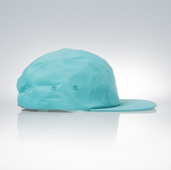 Stussy czapka 5panel Stock Camp teal
